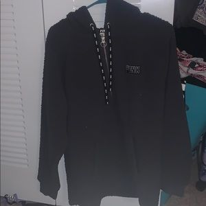 Victoria's Secret Sherpa quarter zip hoodie